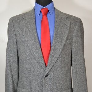 Savile Row 40L Sport Coat Blazer Suit Jacket